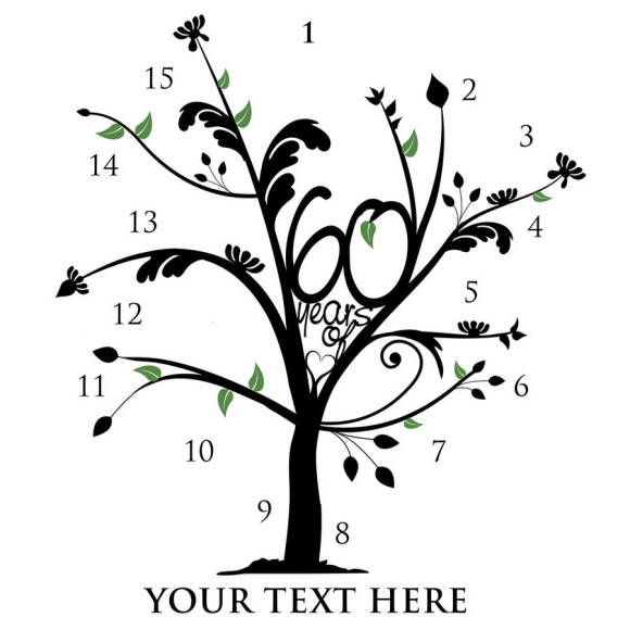 Numbered Tree Diagram