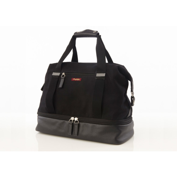 Black Weekender & Gym Bag