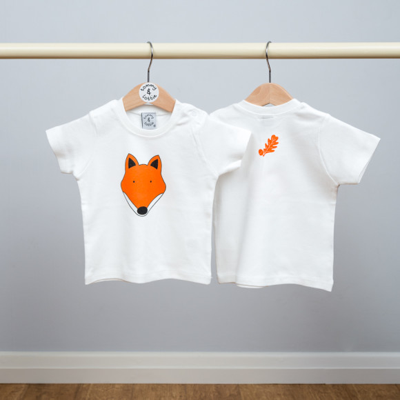 baby short sleeve t shirt (back)
