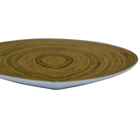 Raindrop Platter White