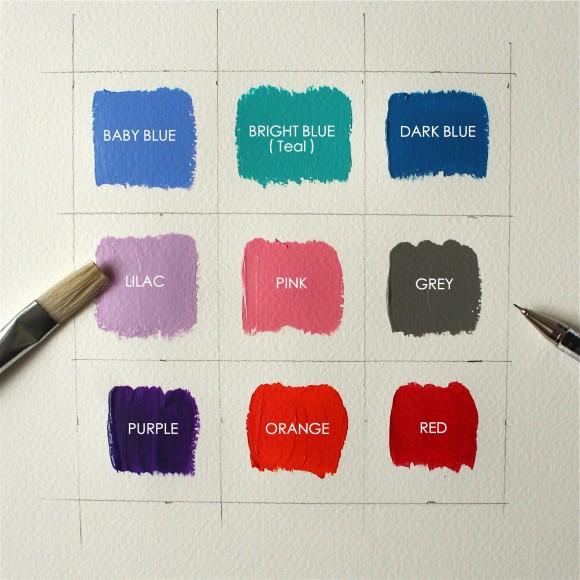 Background Colour Options