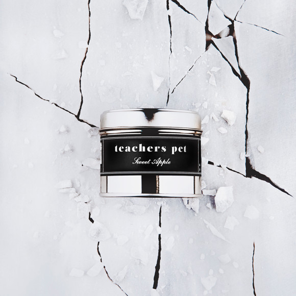 Teachers Pet scented candle front shot