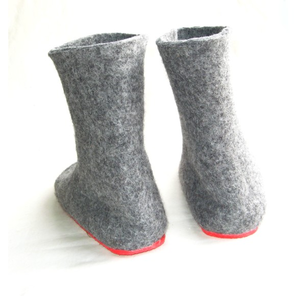wool boot