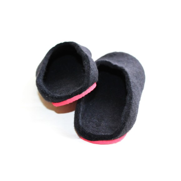 felt wool slipper