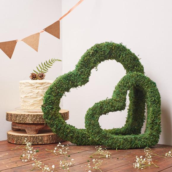 Moss hearts