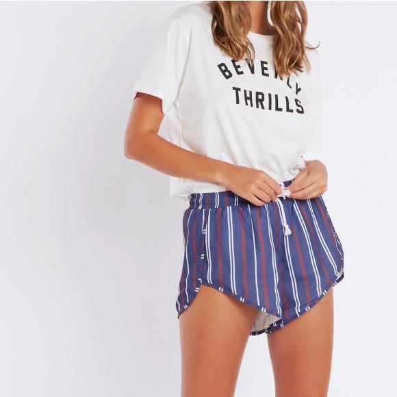 Locker room runner shorts