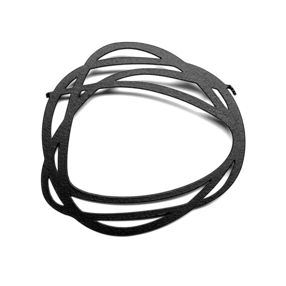 Rings-Brooch-Black