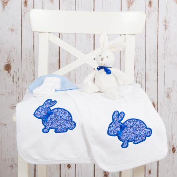 New Baby Gift Set in Blue