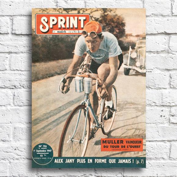 Sprint Cover 1947: Unframed