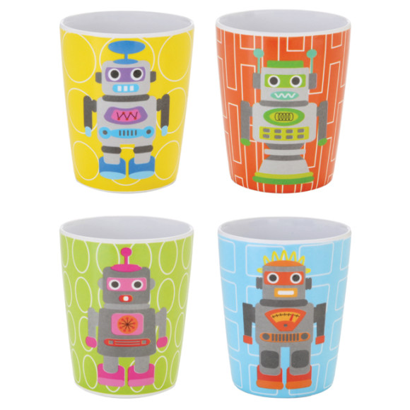Robot Juice Cups