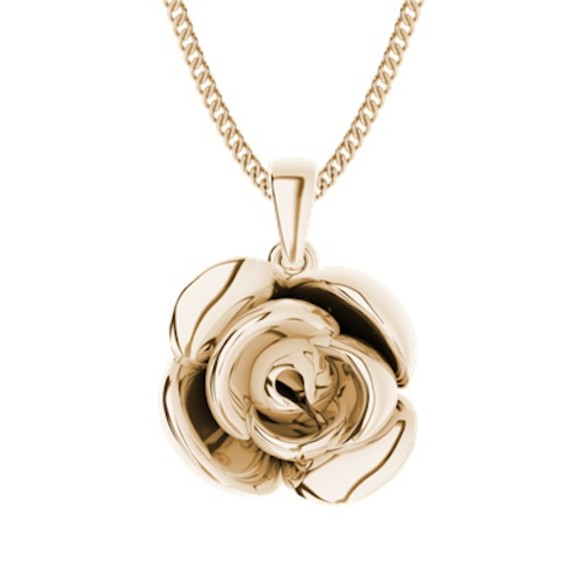 Rose gold-plate
