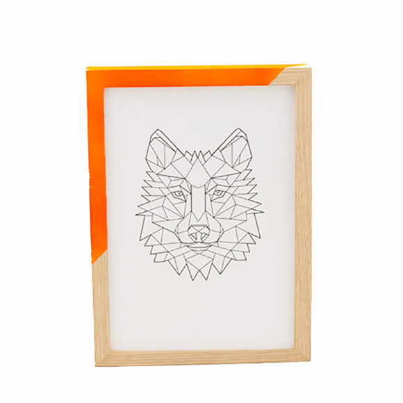 Zap Frame - Orange