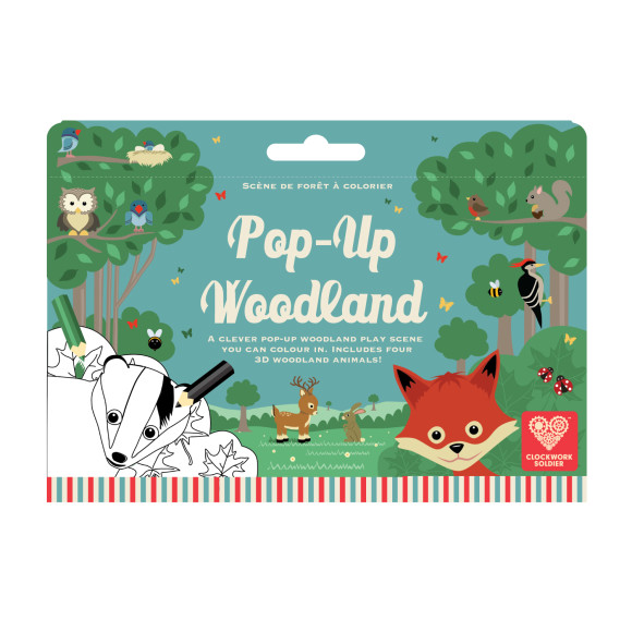 Pop Up Woodland play scene