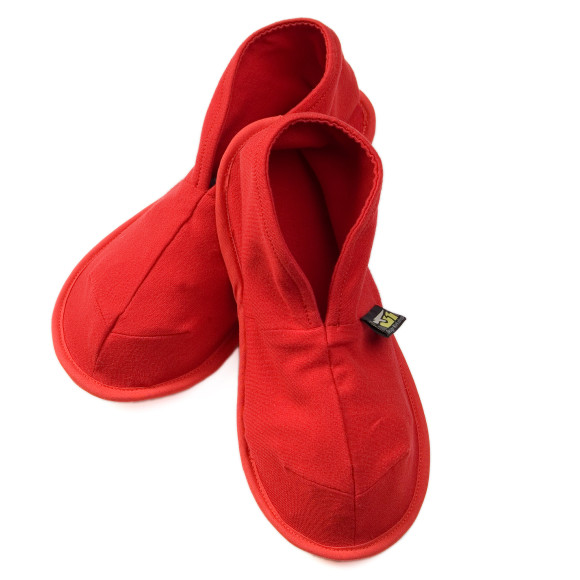 Red Solz Slippers
