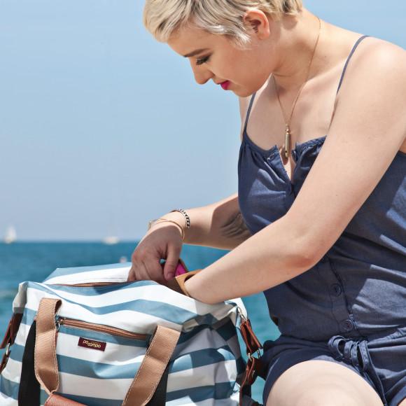 Stripes Weekender & Gym bag