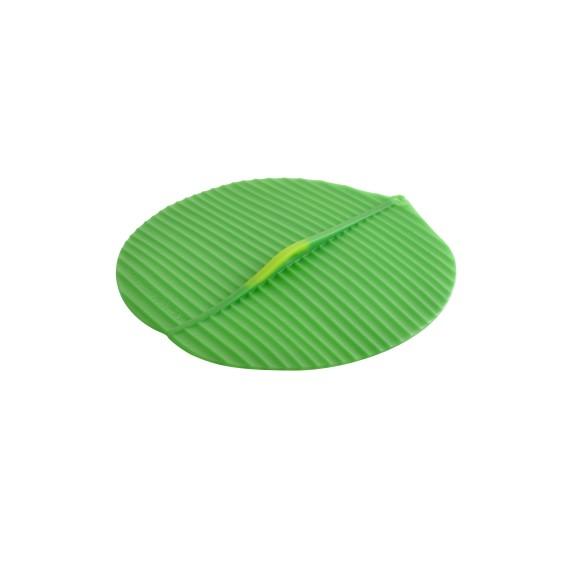 Round Banana Leaf lid