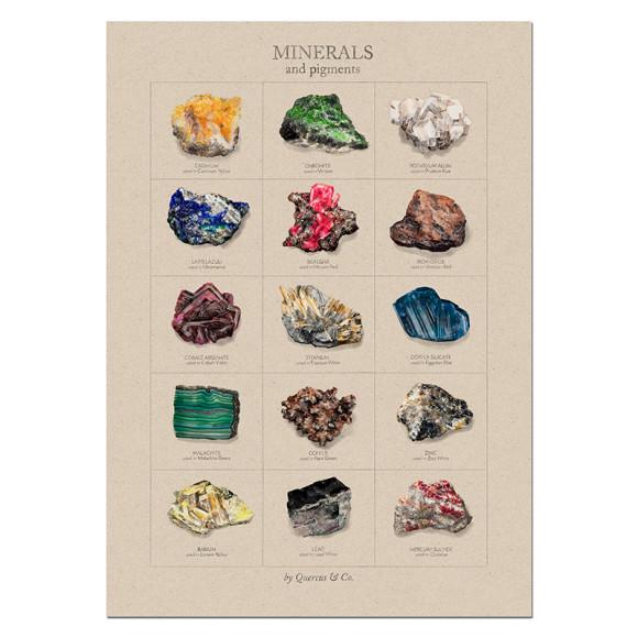Minerals - 50x70cm
