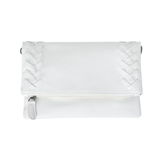 Maxine clutch white