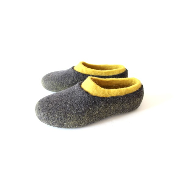 Wool Slippers Double