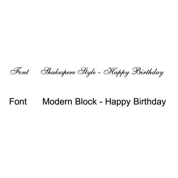 Shakespeare font or Modern Block font