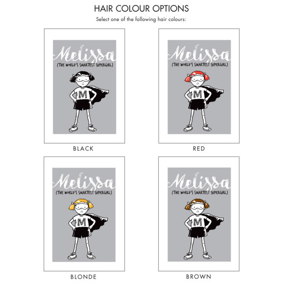 Hair Colour Options