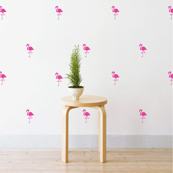 Mini Flamingo in Magenta