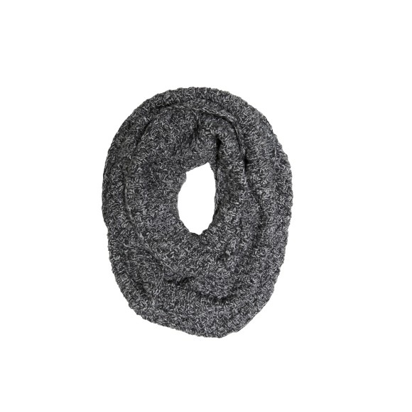 Basket weave loop charcoal