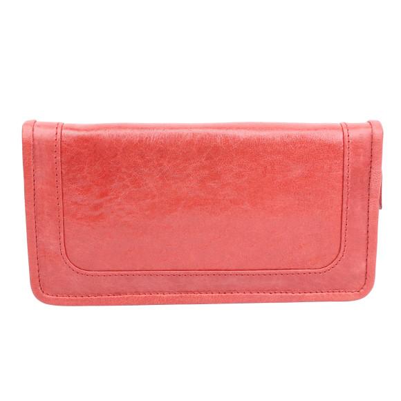 santiago ladies wallet cherry back