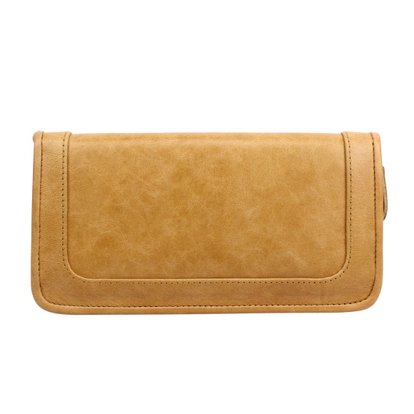 santiago ladies wallet honey back