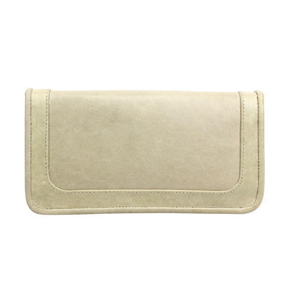 santiago ladies wallet milk back