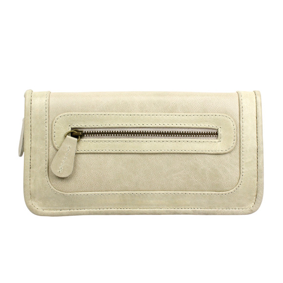 santiago ladies wallet milk front