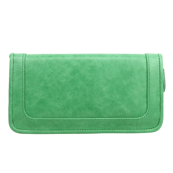 santiago ladies wallet mint back