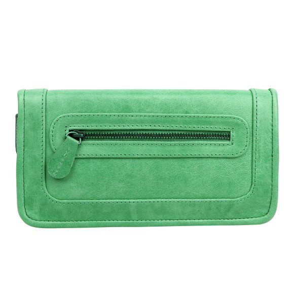 santiago ladies wallet mint front