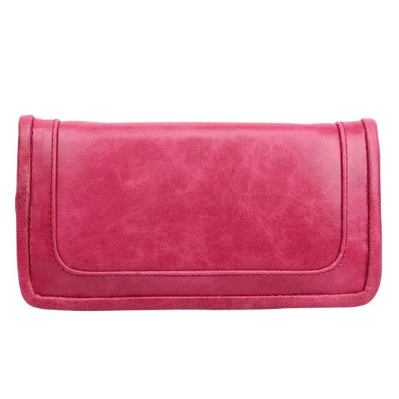 santiago ladies wallet pomegranate back