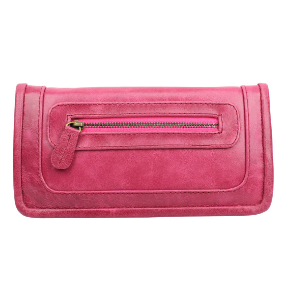 santiago ladies wallet pomegranate front