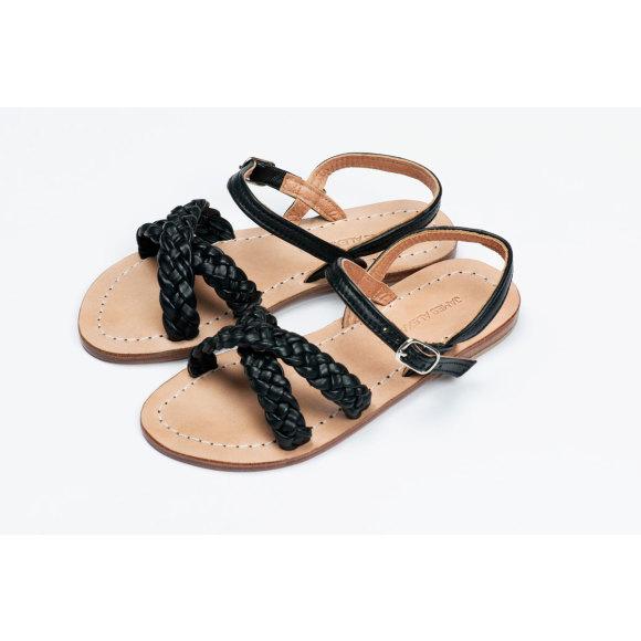 Santorini Sandal Black