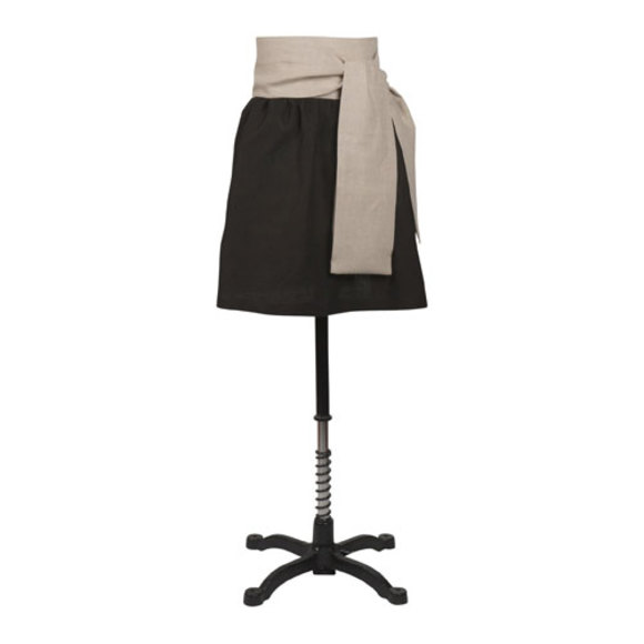 Sasha black apron