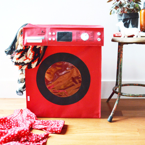 Spin Cycle in Red