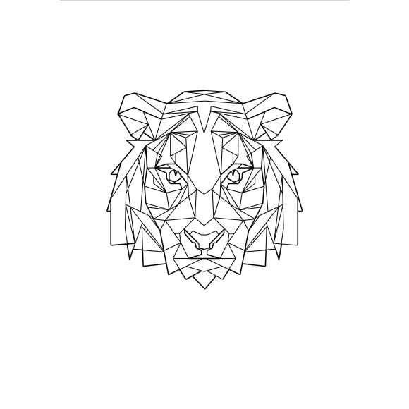 Geo Tiger Print