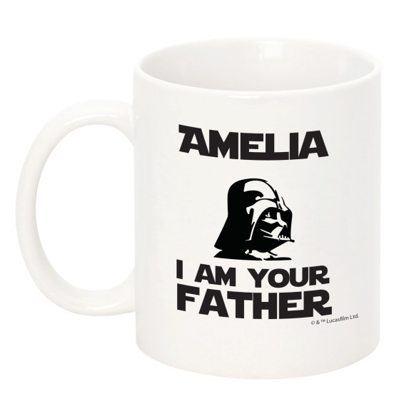 I Am Your Father Mug - Back