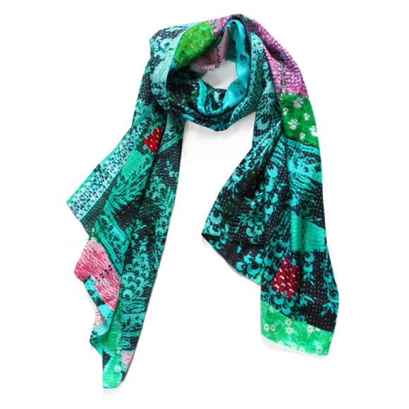 Selina Green scarf