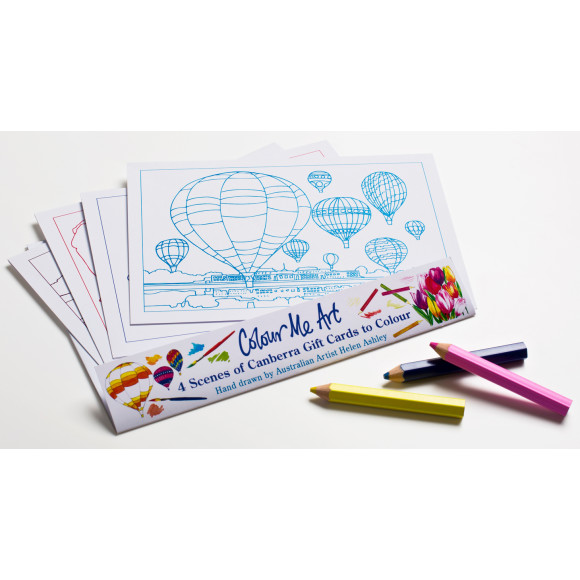 Colouring Cards to send or keep