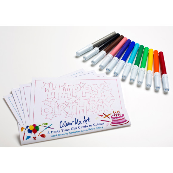 Party Cards & Pens