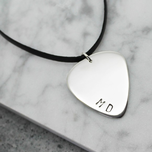 Personalised Sterling Slver Guitar Pick