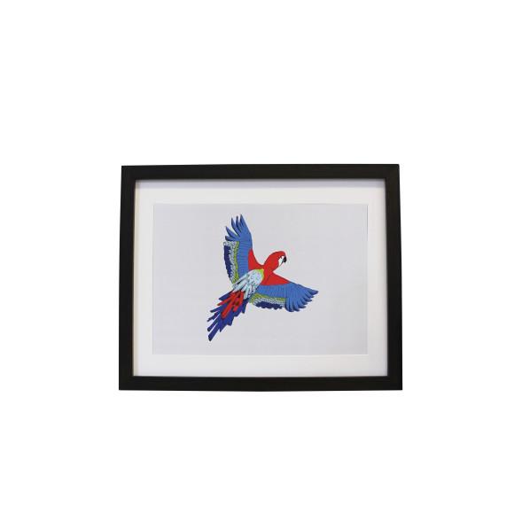 Majestic Macaw Print