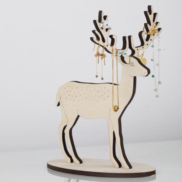 Amanda Coleman Large Deer Jewellery Stand
