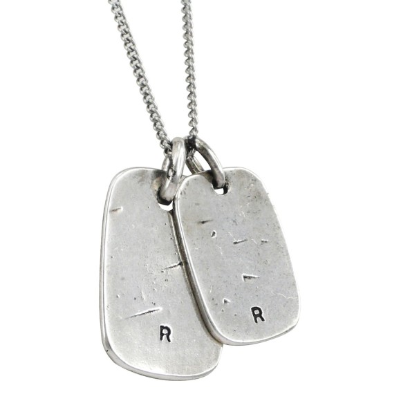 Tags necklace