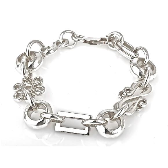 Passage Silver Link Bracelet