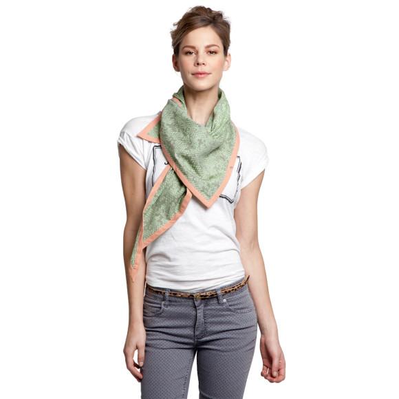 Mellow green scarf