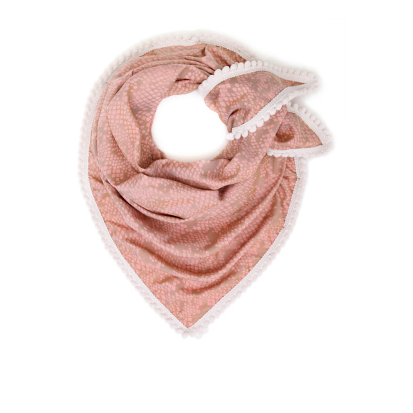 Mellow pink scarf